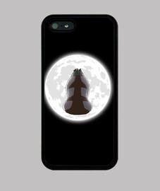 yip yip dans le clair de lune iphone 5 cas