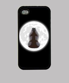 yip yip en el caso claro de luna iphone 4