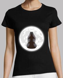 yip yip en la luz de la luna camisa chica