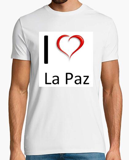 Camiseta Yo amo La Paz