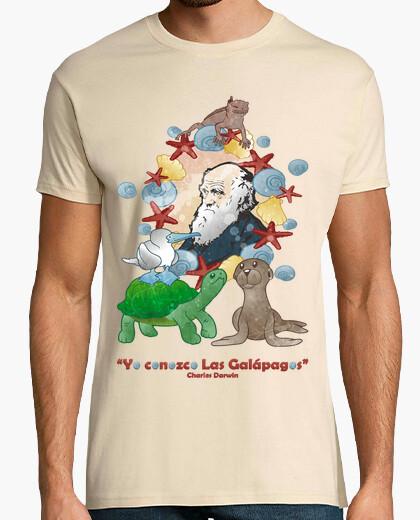 Camiseta Yo conozco Las Galápagos (él)