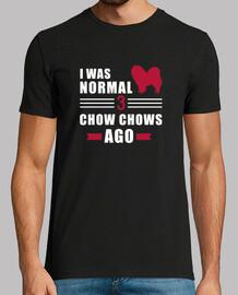 yo era normal hace 3 chow chows