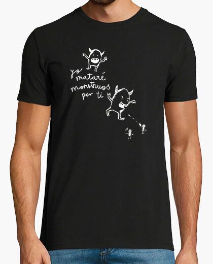 Camiseta Yo mataré monstruos por ti