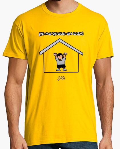 Camiseta Yo me quedo en casa