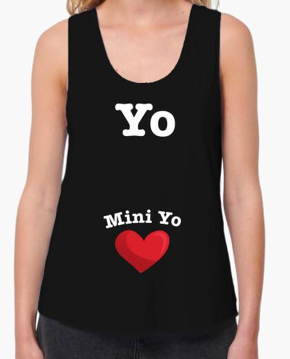 Camiseta Yo, Mini Yo (Embarazada)