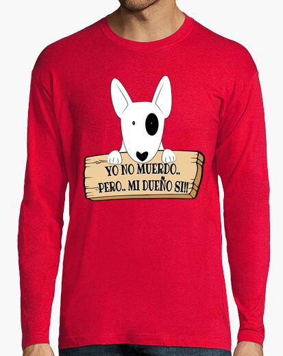 Camiseta yo no muerdo.. pero.. mi dueño si!!