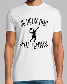yo no puedo tener el tenis