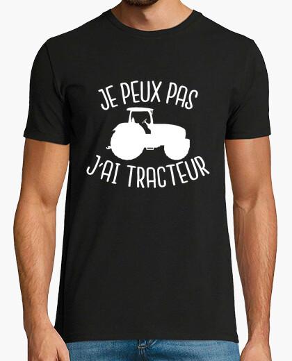 Camiseta yo no puedo tener tractor
