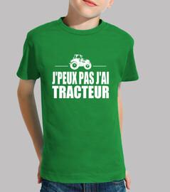 yo no puedo tener tractor