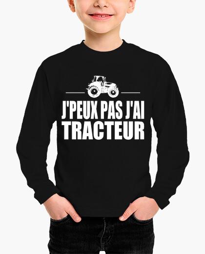 Ropa infantil yo no puedo tener tractor