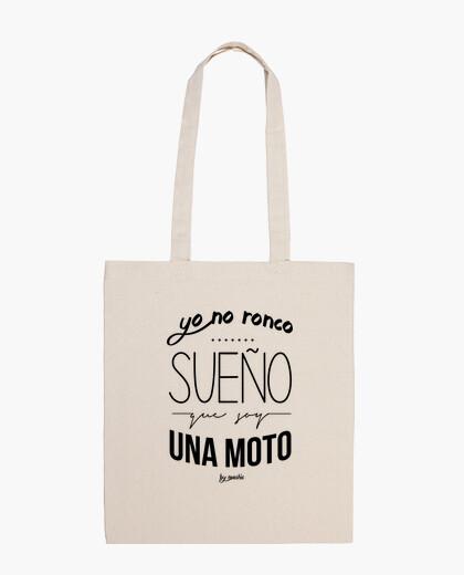 Bolsa Yo no ronco, sueño que soy una moto