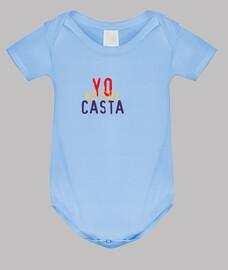YO NO SOY CASTA - PODEMOS - REPUBLICA - Body bebé, azul cielo