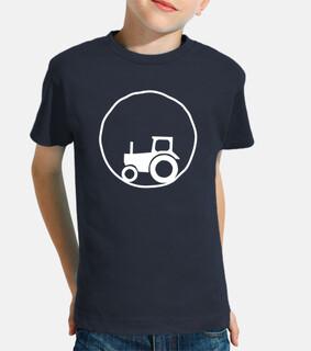 Yo para ser feliz quiero un tractor!