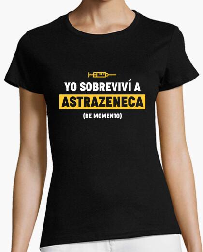 Camiseta Yo Sobreviví A Astrazeneca