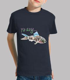 Yo soy boquerón 02 Camiseta niño/a 100 algodón