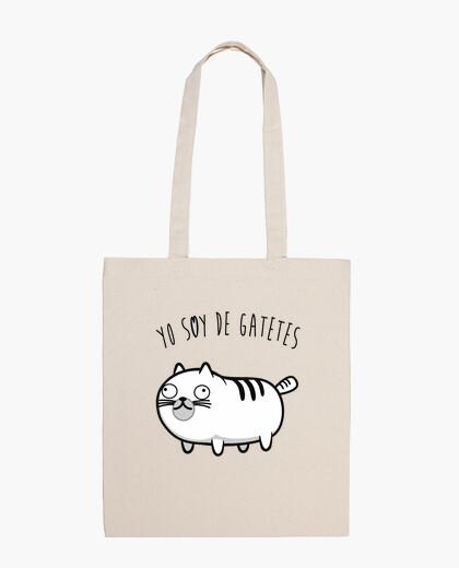 Bolsa Yo soy de gatetes
