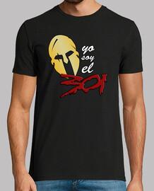 yo soy el 301 - 300 - sparta - camiseta chico