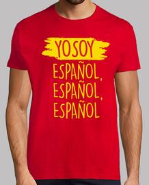 Yo Soy Español, Español, Español (Hombre)
