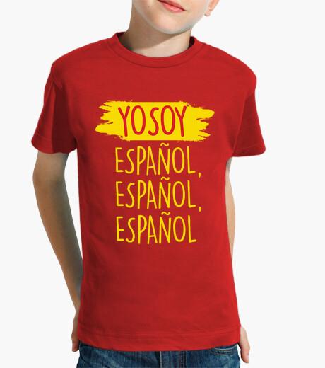Ropa infantil Yo Soy Español, Español, Español (Niño)