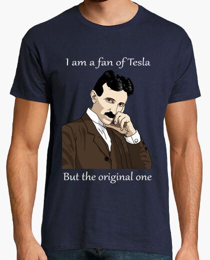 Camiseta Yo soy fan de Tesla