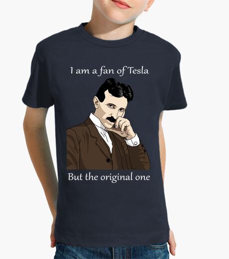 Ropa infantil Yo soy fan de Tesla