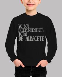 Yo soy independentista total de Albacete