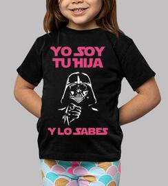 Yo Soy Tu Hija (Y Lo Sabes) Niña (Fondo Oscuro)