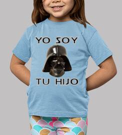 Yo soy tu hijo (Camiseta azul)