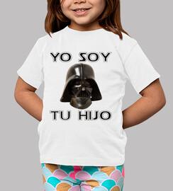 Yo soy tu hijo (Camiseta blanca)
