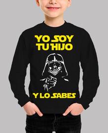 Yo Soy Tu Hijo (Y Lo Sabes) Niño (Fondo Oscuro)