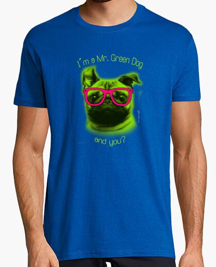 Camiseta YO SOY UN PERRO VERDE ¿Y TÚ?