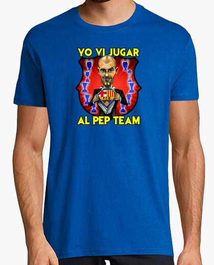 Camiseta YO VI JUGAR AL PEP TEAM