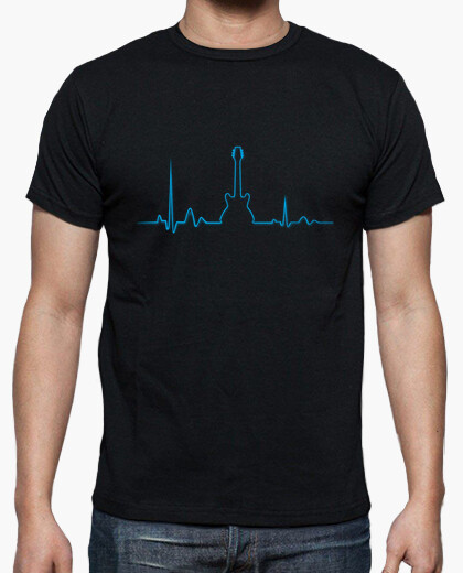 Camiseta Yo vivo de Rock hombre