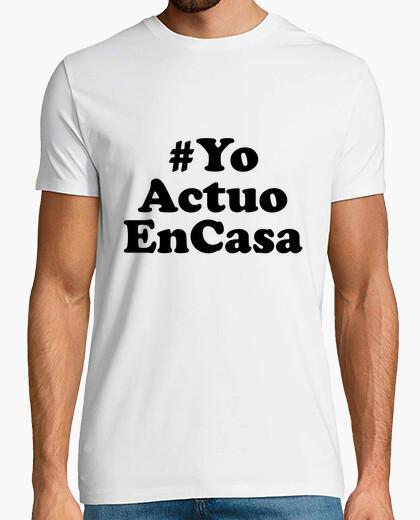 Camiseta YoActuoEnCasa