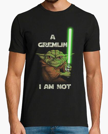 T-shirt yoda-gremlin