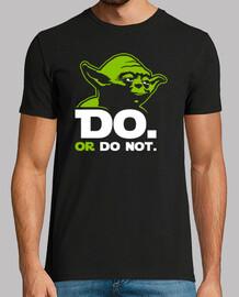 Yoda - Do. Or Do Not. (Guerre Stellari)