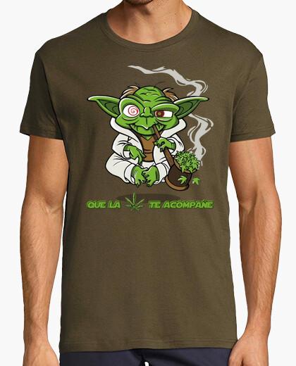 Camiseta Yoda - Que la Hierba te Acompañe