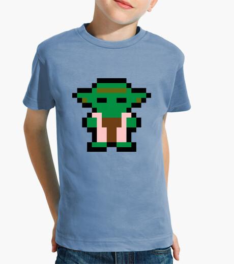Ropa infantil Yoda 8 Bits (Camiseta Niño)