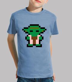 Yoda 8 Bits (Camiseta Niño)