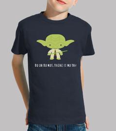 yoda  tee shirt  enfants