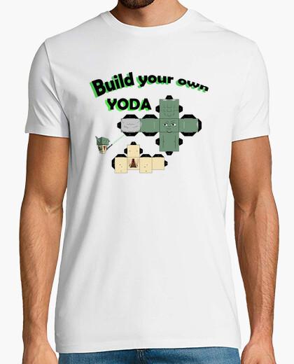 Camiseta yoda papercraft