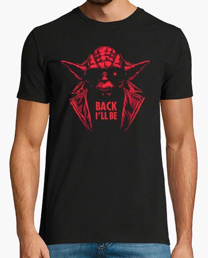 Camiseta Yoda Terminator - Back Ill Be