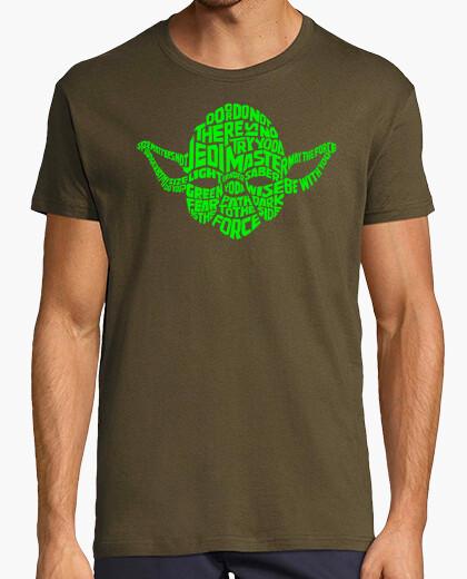 Camiseta Yoda Tipografía