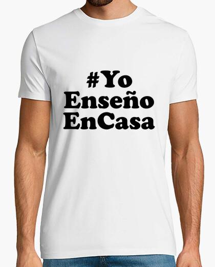 Camiseta YoEnseñoACasa