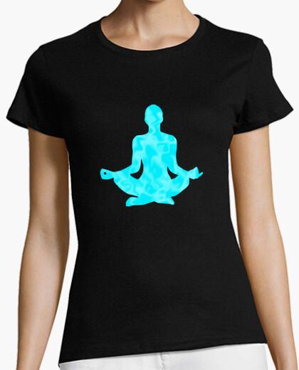 Camiseta Yoga - Meditación en Flor de Loto