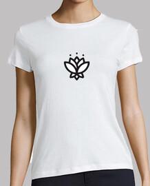 Yoga flor de loto minimal