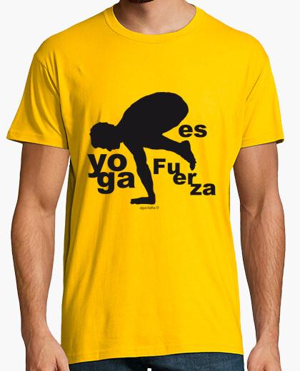 Camiseta Yoga Fuerza