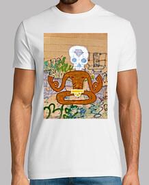 Yoga Grafiti - Camiseta Hombre