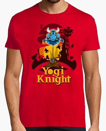T-shirt yogi knight