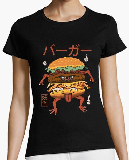 Tee-shirt yokai burger chemise femmes